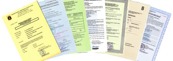 izin mendirikan bangunan dan sertifikat tanah